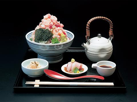日本橋 海鮮丼 つじ半