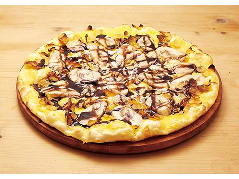 チョコバナナのデザートピザ(Dサイズ)