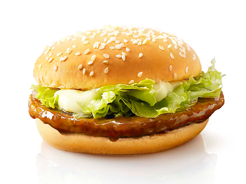 McDonald's LaLaport Tokyo-Bay  west hall shop