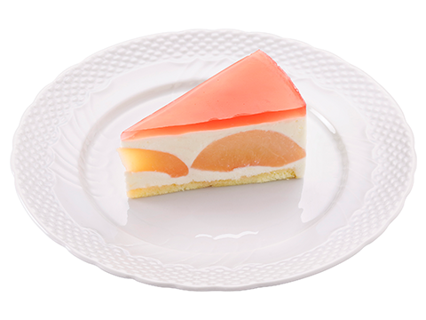 桃のティラミス