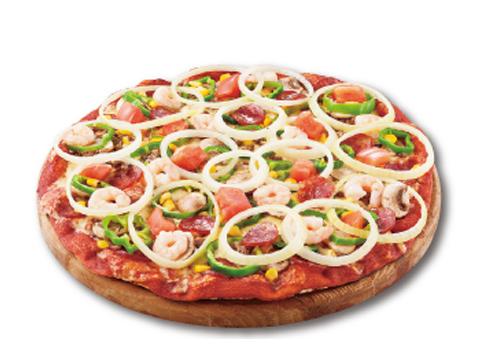 ピザヒーローダブルサイズ(25㎝、2名様用)