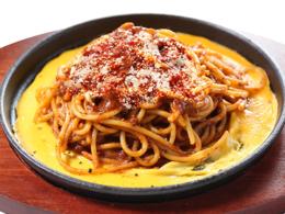 おすすめメニュー 新商品 鉄板ミートスパゲティ