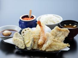 おすすめメニュー 天ぷら定食
