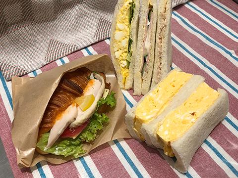 ランチにオススメ!サンドイッチ各種