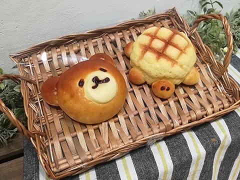 子供に人気のカメロン・森のくまパン