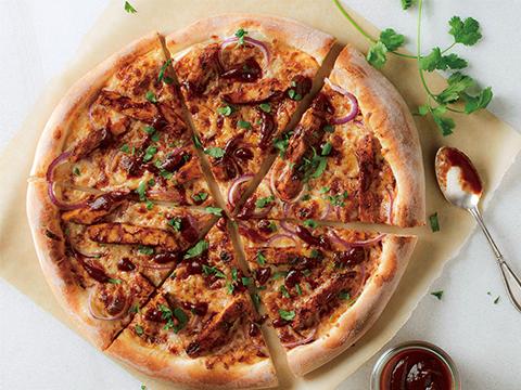 オリジナルBBQチキンピザ