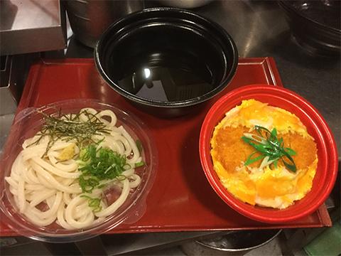 かつ丼定食(温またはざる)