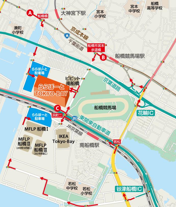 Suburban map