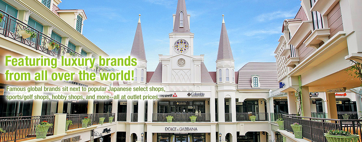 Featuring luxury brands from all over the world!