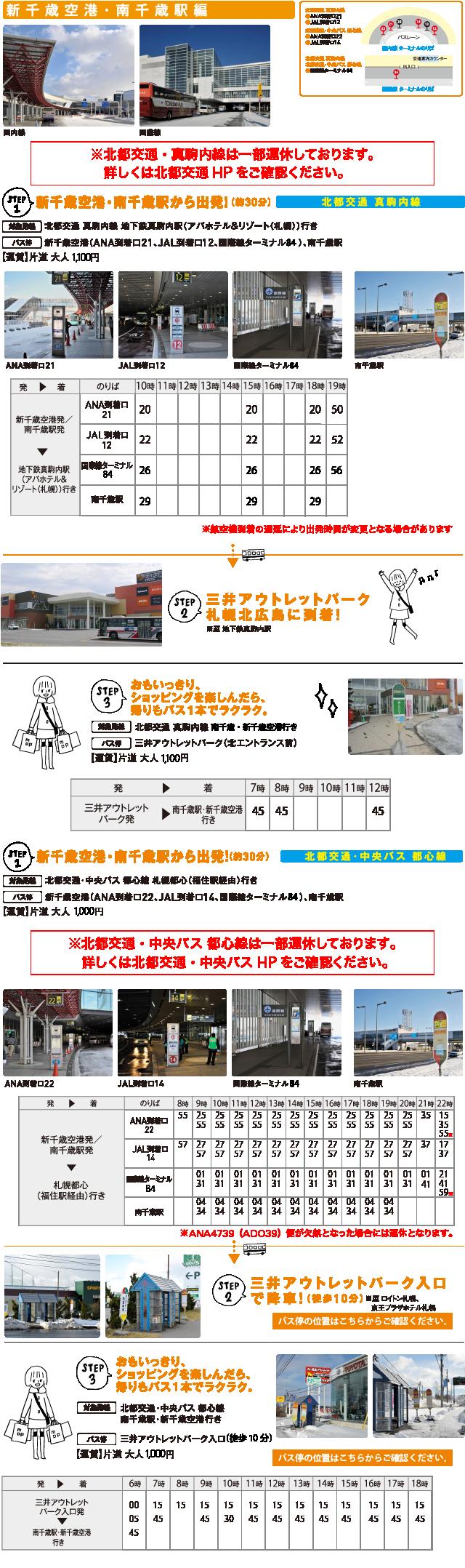新 千歳 空港 から 札幌 駅 バス