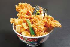 Nihonbashi tempura bowl Kaneko Hannosuke