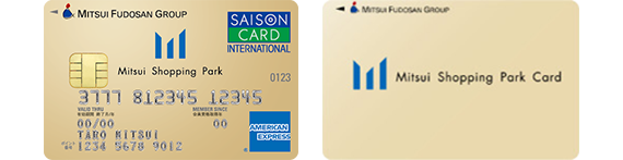 Information for advantageous card Mitsui Shopping Park card
