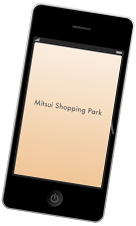 Information for convenient application Mitsui Shopping Park application