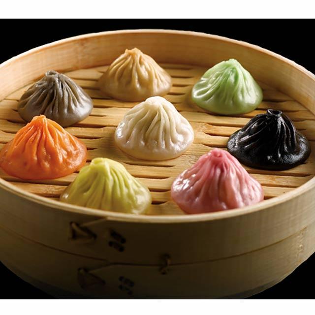 8 색 샤오롱바오