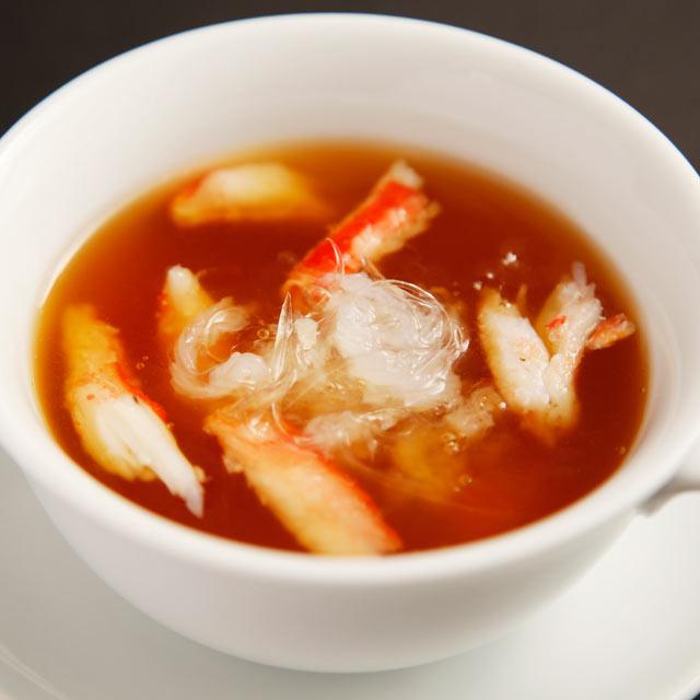 魚翅和雪蟹的湯