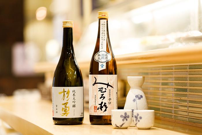 在肌膚在日本清酒和魚健康