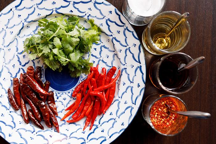 타이 요리로, 핫한 더위 대책