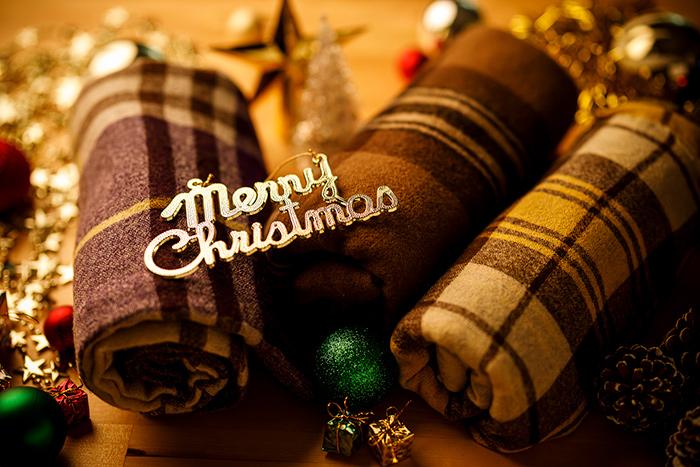 向我贈送彩色的聖誕節