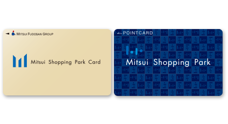 Mitsui Shopping Park reward card